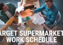 Target Supermarket's Work Schedule